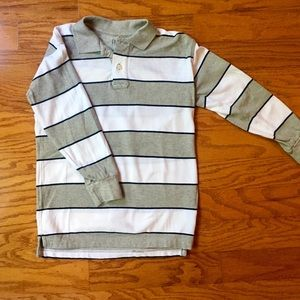Gap Boys size 8 striped polo shirt